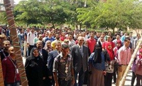 El-kady inspects eight faculties in the first day of the academic year