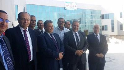 لجنة قطاع الصيدلة في زيارة جامعة بنها