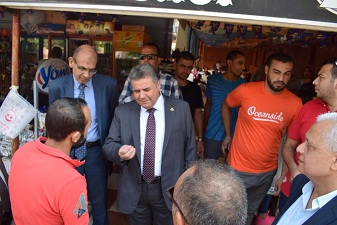 Benha university president stresses to reduce the prices of the Cafeteria products