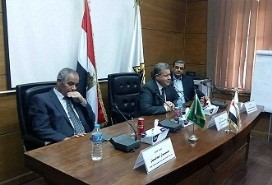 EL-kady hails Benha university students and the members of the presidential initiative of the innovation