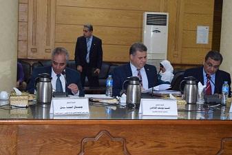 في مجلس جامعة بنها: القاضي يوجه التهنئة للنشار لرئاسته لقطاع الدراسات التكنولوجية