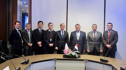 إتفاق مبدئى للتعاون بين جامعة بنها ومعهد كيوشو للتكنولوجيا باليابان