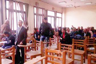 11253 طالب يؤدون إمتحانات التعليم المفتوح بحقوق بنها