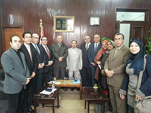 لجنة متابعة تنفيذ خطة جامعة بنها الاستراتيجية تنتهي من تقييم ٥٠٠ نشاط