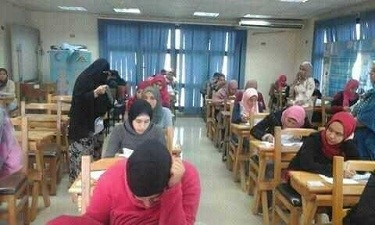 The exams of the faculty of nursing starts in Benha University
