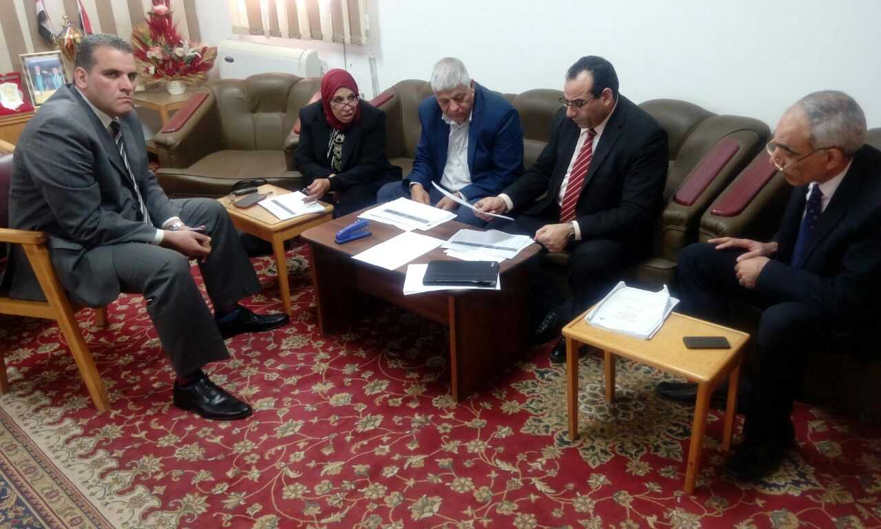 Revising three faculties' plans in Benha University during some days