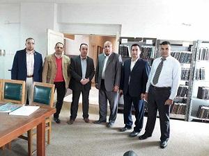الإعلان عن مسابقة أفضل مكتبة في جامعة بنها