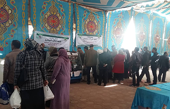 A great demand of the citizens to the Benha university products exhibition