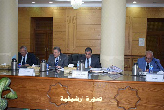 An emergency meeting of Benha University's council