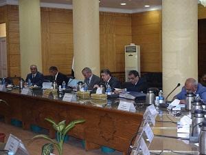 مجلس جامعة بنها يستعرض معدلات تنفيذ الخطة الإستراتيجية