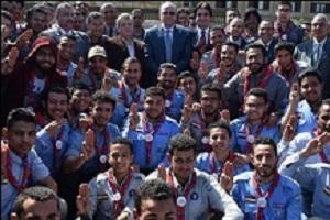 """We target to train 10,000 students on crises management"" says El-Kady"