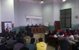 Two forums and six deans in Benha University about the political participation