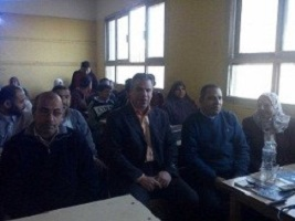 "The faculty of education calls for political participation in the election at ""El-Shomot"" school in Benha"