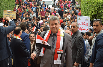 بيان من جامعة بنها
