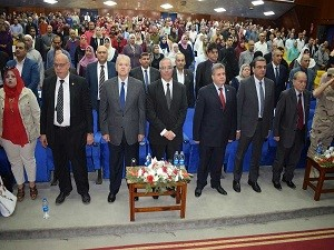 Benha University honors 74 martyrs mothers and ideal mothers in a big ceremony