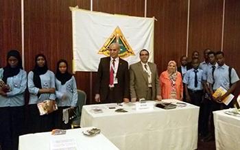 أقامها السفير المصرى: مأدبة عشاء لوفد جامعة بنها فى معرض التعليم بنيجيريا