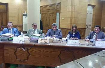 لجنة اختيار عميد طب بنها عقدت اجتماعها اليوم