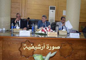 مجلس جامعة بنها يناقش الاستعدادات النهائية للامتحانات