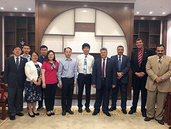 جامعة بنها تبدأ الشراكة الأكاديمية مع جامعة العاصمة فى بكين ب ٣ برامج دراسية