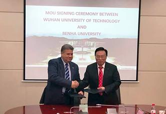 جامعة بنها توقع مذكرة تفاهم مع جامعة ووهان للتكنولوجيا وتحصل على ٣ منح دكتوراه