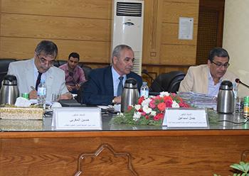 المغربى رئيسا لمجلس تأديب أساتذة جامعة بنها
