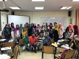 دورات لتنمية مهارات تدريس الرياضيات والعلوم باللغة الإنجليزية بجامعة بنها