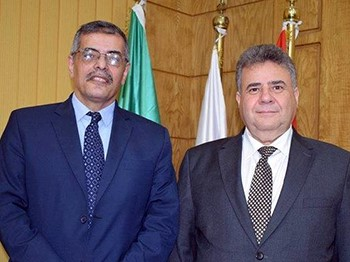 EL-Magraby is the acting president of Benha University