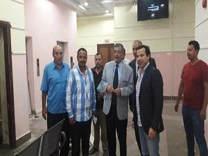 المغربي يتفقد أعمال التطوير فى كلية الفنون التطبيقية ببنها