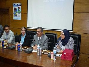 المغربي: خدمة المجتمع من أهداف جامعة بنها