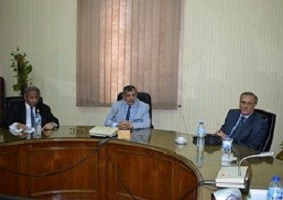 Benha University president discusses the current situation of the faculties of arts, engineering, computer and informatics of accreditation