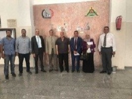 The supervision committee of the faculties ' performance visits the faculty of physical education in Benha University