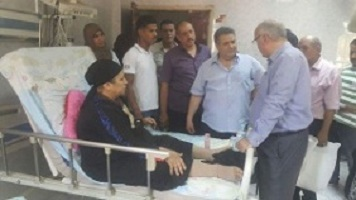 EL-Kady gives the employees in the hospitals two days off on the occasion of Eid –EL-Fitr