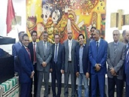 The committee of assessing the performance of the universities visits Benha and inspects the faculties and the university's hostels and heaps praise on the stduents' participation in the preparations