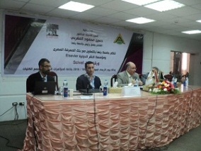 A workshop held for the researchers and the faculties' members on how to develop the research plans and publish them internationally