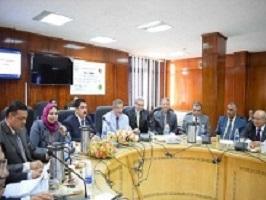 Starting to establish a new Benha university specialized hospital