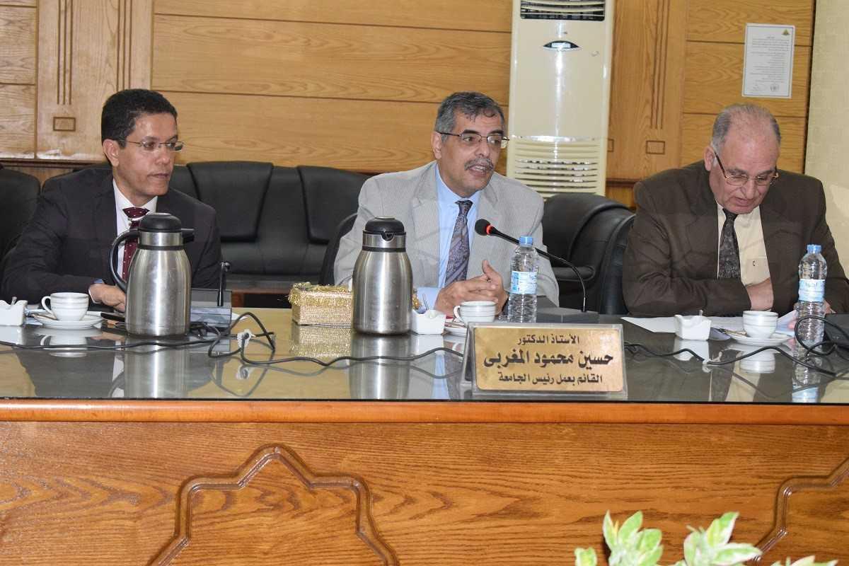 8 مليون جنيه لدعم 3 مشاريع بجامعة بنها من وزارة التعليم العالي