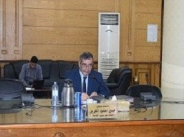 EL-Magraby heaps praise of the success of the stduents ' union elections at Benha University