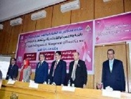 Abd EL-Halim and EL-Magraby inaugurates the scientific day of the modern ways to diagnose and cure breast swellings