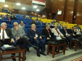A conference to be held in Benha University about the modern visual devices