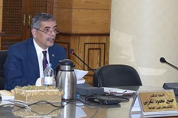 المغربي: جامعة بنها ملتزمه بتسديد حصتها في صندوق تحسين أحوال العاملين بالجامعات الحكومية