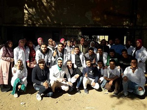 جامعة بنها تنظم قافلة بيطرية إلي قرية أجهور الكبري