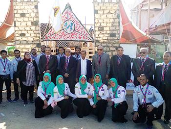 جامعة بنها تشارك في أسبوع شباب الجامعات بكفر الشيخ