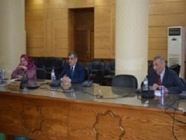 Preparing to carry out the initiative of Egypt's craftsmen in Benha University