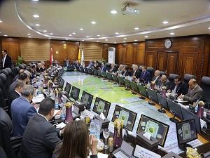 الأعلى للجامعات يهنئ السعيد برئاسة بـنها.. ويشكر المغربى على مجهوداته