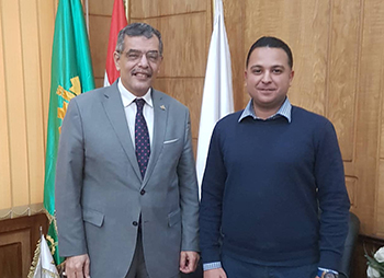 Prof.Dr. Shady EL-Mashad is appointed as the manager of the center of general service of informatics and information technology