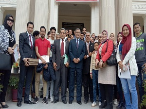 المغربي ومتولي يعلنان توصيات المؤتمر الدولي الذي نظمه مركز تنمية القدرات بجامعة بنها