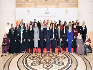 Benha University participated in the ceremony honoring the Egyptian woman and the ideal mother.