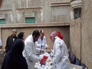 جامعة بنها تنظم قافلة بيطرية مجانية لقرية الشقر بكفر شكر