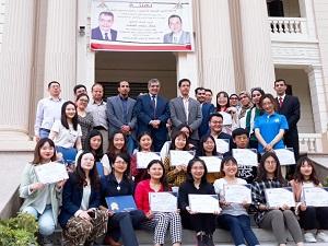 «المغربى» يشهد حفل ختام برنامج التبادل الطلابى بين جامعة بنها والجامعات الصينية