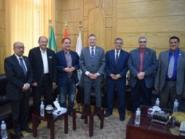 Establishing the first comprehensive center to cure the breast cancer in the Benha University for the sake of serving the governorate inhabitants and other delta governorates